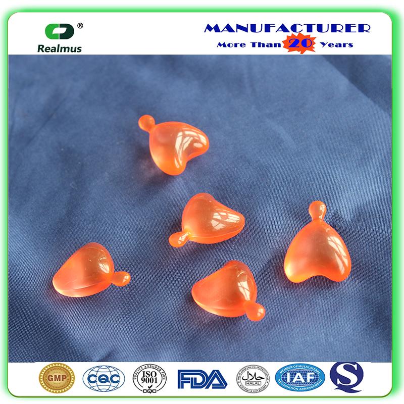 Vitamin E Capsules with Aloe Vera for Face External Use