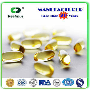 GMP Flaxseed Oil Softgel Capsule