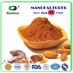 Natural Organic Cocoa Extract Theobromine 10% 20% Powder