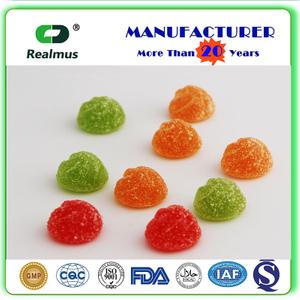Kosher Halal certificate appetite control gummy 3.5g bear shape Gummy candy