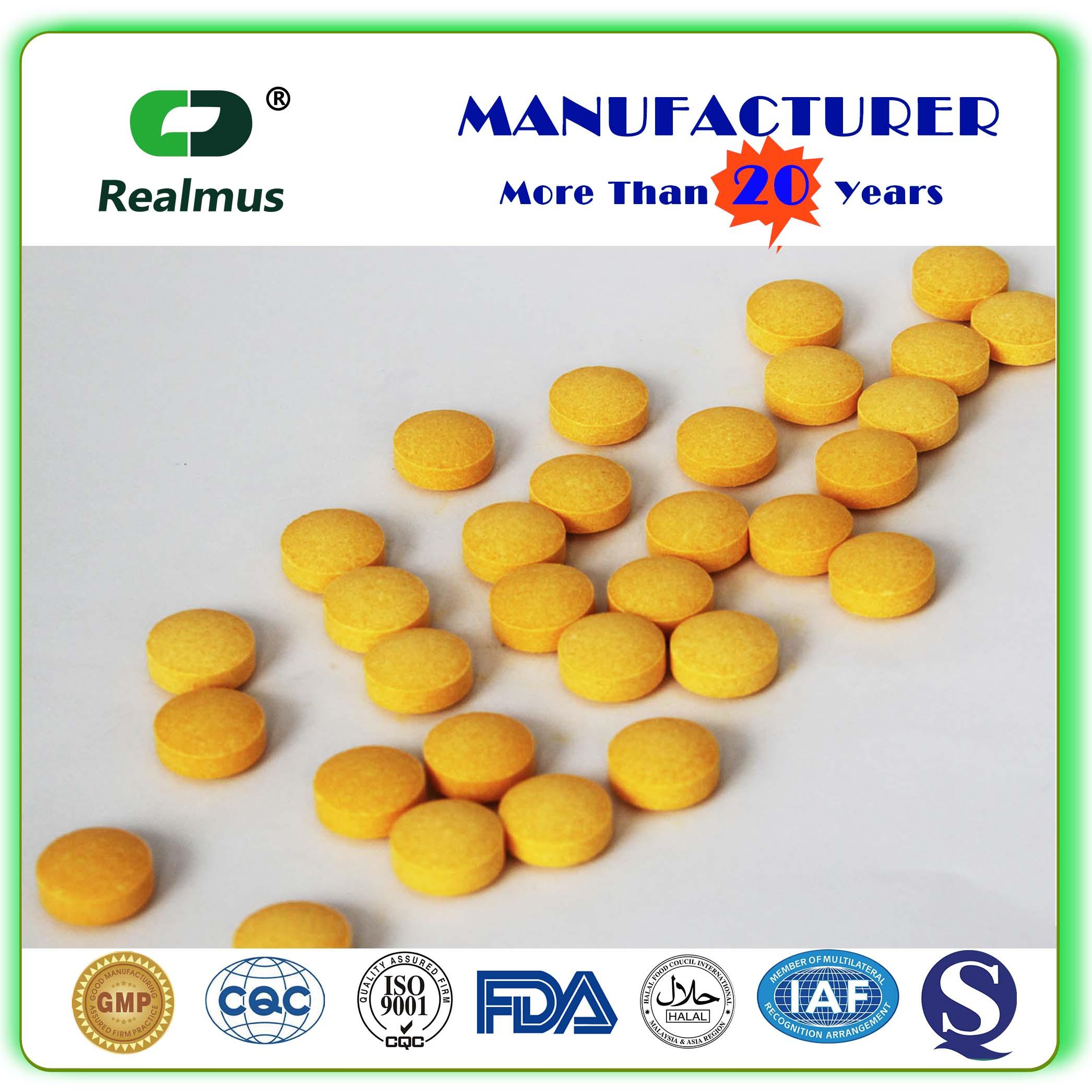 EM Manufacturer Supplement Raspberry Ketone Tablets Pills china supplier