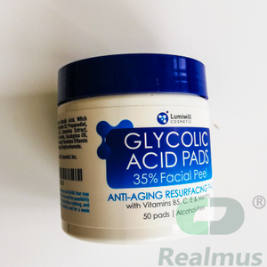 Lumiwill Glycolic?Acid?35%?Resurfacing?Pads?conveniently?provide?effective?treatment Exfoliates?moisturizes?for?skin